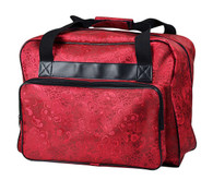 Sewing Machine Tote Red