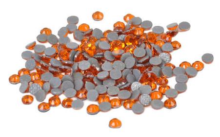 Silhouette Crystal 4mm 350/pkg Orange