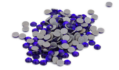 Silhouette Crystal 5mm 200/pkg Cobalt Blue