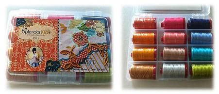 Aurifil Cotton 12 wt 12 Large Spools Bari J Ackerman Splendor Thread Collection