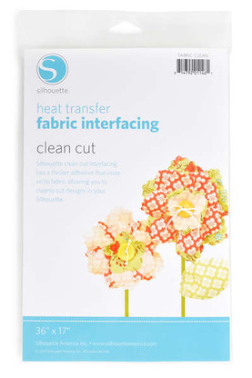 Silhouette Clean Cut Fabric Interfacing 36in x 17in