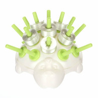 Porcupine Bobbin Holder A-Style Bobbin Green Apple
