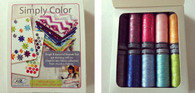 Aurifil Cotton 28 wt 10 Small Spools Vanessa Christenson Simply Color Thread Collection