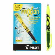 Frixion Erasable Highlighter 12/pkg Yellow