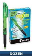 Frixion Erasable Highlighter 12/pkg Green