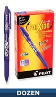 Frixion Erasable Gel Pen 12/pkg Purple 0.7mm