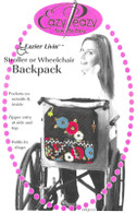 Eazier Livin' Stroller or Wheelchair Backpack