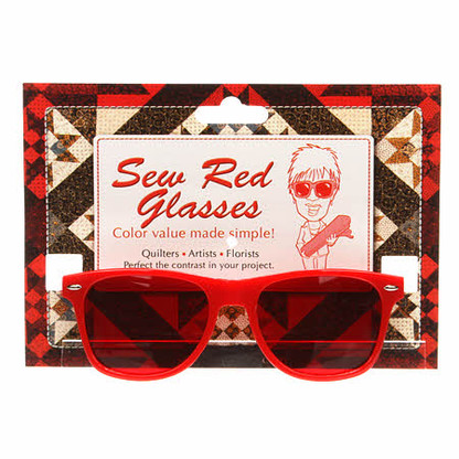 Sew Red Glasses