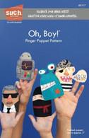 Oh, Boy! Finger Puppet Pattern