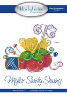 Mylar Embroidery CD Designs Mylar Swirly Sewing