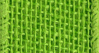 Burlap Wired Ribbon 2-1/2in x 10yd Hot Lime