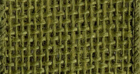 Burlap Wired Ribbon 2-1/2in x 10yd Moss