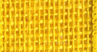 Burlap Wired Ribbon 2-1/2in x 10yd Bright Yellow