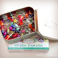 Spade Parade Designer Pins by Patty Young