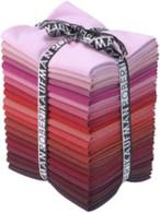 Fat Quarter Kona Cotton Solids Wine Cellar Colorway 20pcs