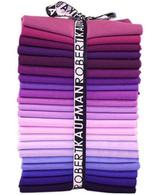Fat Quarter Kona Solids Purple Colorways 22pcs