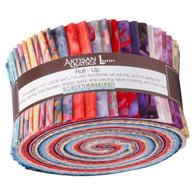 Roll Up Artisan Batiks Spring Mod by Lunn Studios 40pcs