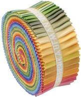 Roll Up Kona Cotton Solids Dusty Palette 41pcs