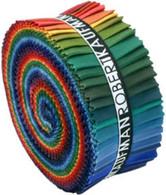 Roll Up Kona Cotton Solids Dark Palette 41pcs