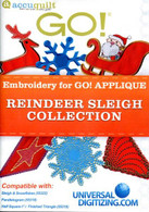 Reindeer Sleigh Collection CD-ROM - Accuquilt Companion