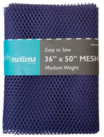 Mesh Fabric Medium Weight 36in x 50in Purple