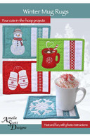 Winter Mug Rugs with CD
