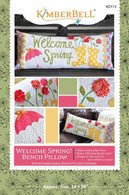 Welcome Spring Bench Pillow Pattern