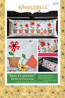 May Flowers Bench Pillow Pattern