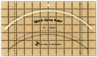 Quick Curve Ruler 7in x 10in