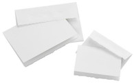 Blank Cards with Envelopes White 5in x 6-7/8in 10/pkg