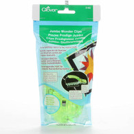 Jumbo Wonder Clips Neon Green 24/pkg