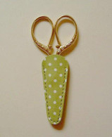 Embroidery Scissor Case Green