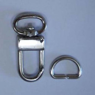 Snap Hook 1/2in Silver 2/pkg