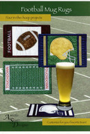 Football Mug Rugs with CD