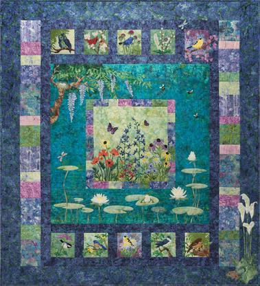 Bella Garden Complete Pattern Set