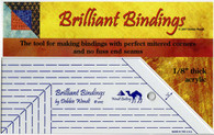 Brilliant Bindings Tool 1/8in for aLL Quilters