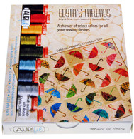 Aurifil 10 Small 50wt Spools by Edyta Sitar Dancing Umbrellas Collection
