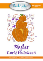 Mylar Curly Halloween CD