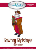 Cowboy Christmas with Mylar with CD