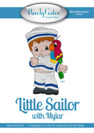 Little Sailor with Mylar CD