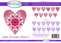 Mylar Decorative Hearts 2 CD