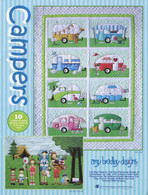 Amy Bradley Campers Applique Pattern Front