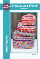 Crimson & Clover Train Cases Pattern