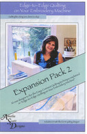 Edge to Edge Quilting Expanded Pack 2 with CD