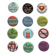 Sew Sassy Button Set 4 48/pkg