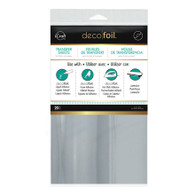 iCraft Deco Foil Transfer Sheets 20/pkg Silver