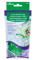 Jumbo Wonder Clips 12/okg