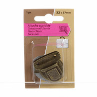 Turn Lock Antique Gold 1/pkg