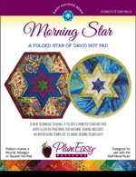 Morning Star: A Folded Star of David Hot Pad Pattern