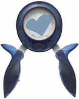 Fiskars Squeeze Punch - Large Funky Love Heart